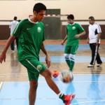 أخضر الصالات يواجه البحرين ودياً