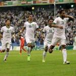الأخضر يتألق ويصعد للنهائي على حساب الإمارات بثلاثة أهداف مقابل هدفين