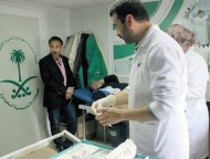 """""""العيادات السعودية"""" تتعامل مع 139 حالة في مخيم الزعتري"""