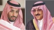 الأمير محمد بن نايف ولياً لولي العهد والأمير محمد بن سلمان وزيراً للدفاع