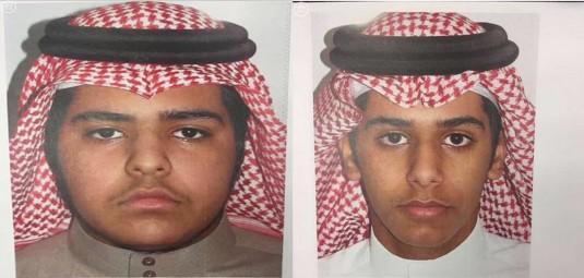 الجهات الأمنية تلقي القبض على الجانيين اللذين قاما بطعن والديهما وشقيقهما في الرياض.. صور
