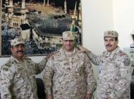 """ترقية """"القرني"""" إلى رتبة عقيد بالحرس الوطني"""