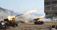 كوريا الشمالية تجري تدريبات واسعة النطاق بالمدفعية