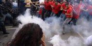 اشتباكات بين الشرطة ومتظاهرين على هامش قمة مجموعة السبع