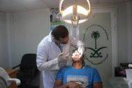 عيادة الأسنان في العيادات التخصصية السعودية بمخيم الزعتري تتعامل مع 286 شقيق سوري خلال الأسبوع 224