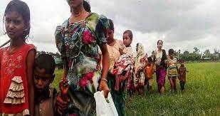 """بنجلادش تقول إن تدفق الروهينجا """"لا يمكن استمراره"""" وتطلب حلا"""