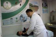 العيادات التخصصية السعودية في مخيم الزعتري تتعامل مع 3387 مراجعاً من السوريين