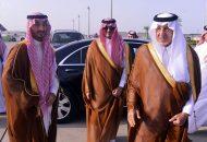 أمير منطقة مكة يرأس وفد المملكة في حفل افتتاح قاعدة محمد نجيب العسكرية في مصر
