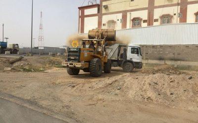 أمانة نجران تطلق حملة نظافة لرفع الأنقاض ومخلفات المشاريع