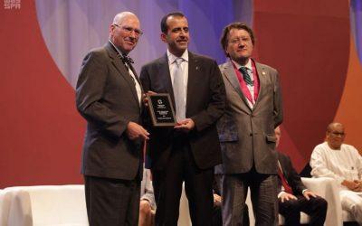 """منح """"جائزة نومان"""" للقيادة لرئيس مستشفى الملك خالد للعيون"""