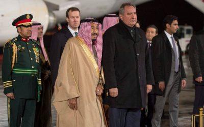 خادم الحرمين الشريفين يعرب عن تطلعه لتعزيز العلاقات السعودية الروسية