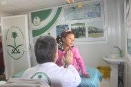 العيادات التخصصية السعودية تقدم العلاج لــ 3953 طفلا من أبناء الاشقاء السوريين في مخيم الزعتري