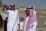 أمين الطائف يقف على المشروعات الجارية ضمن أعمال تطوير متنزه الردف العام