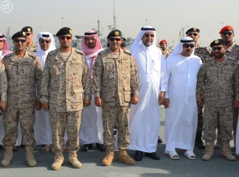 البحرية السعودية تجلي منسوبي البعثة الدبلوماسية السعودية وعدد من بعثات الدول