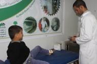 العيادات التخصصية السعودية تعاين 1772 حالة مرضية من السوريين في مخيم الزعتري