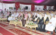 محافظ الطائف يحضر زواج 600 شاب وفتاة في حفل الزواج الجماعي العاشر