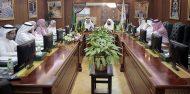 """الشيخ السديس يرأس اجتماع الفريق التنفيذي للخطة الإستراتيجية """"حرمين"""""""