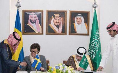 المملكة توقع مذكرة تفاهم مع السويد بشأن المشاورات السياسية بين البلدين