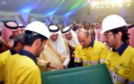 """الأمير خالد الفيصل يُدشّن منجم """"الدويحي"""" للذهب ومشاريع البنية الأساسية للتعدين بمنطقة مكة المكرمة"""
