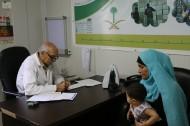 العيادات التخصصية السعودية تستقبل 2514 مراجعًا من اللاجئين السوريين في مخيم الزعتري