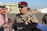 """نائب قائد القوات البرية يتفقد تمرين """"نمر 3″ بتبوك"""