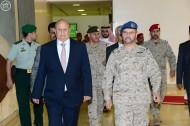 الرئيس اليمني يزور مركز الدفاع الوطني بوزارة الدفاع السعودية