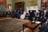 سفير المملكة لدى بريطانيا يستقبل المبايعين لسمو الأمير محمد بن سلمان وليًا للعهد