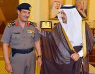 أمير القصيم يقلد مدير أمن الطرق بالمنطقة رتبته الجديدة