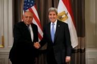 وزير خارجية مصر: على ليبيا قيادة جهود مكافحة الدولة الإسلامية