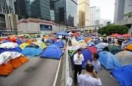 محتجو هونج كونج يجرون تصويتا الكترونيا على اقتراحات حكومية