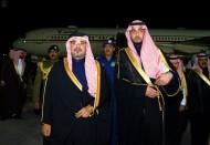 ولي عهد البحرين يصل الرياض لتقديم العزاء في وفاة الملك عبدالله بن عبدالعزيز