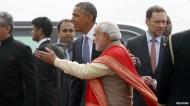 الرئيس الأمريكي باراك اوياما يبدأ زيارة للهند