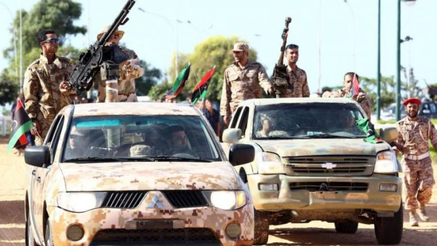 قوات حفتر تسيطر على مركز درنة