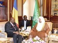 جلسة مباحثات مشتركة بين رئيس مجلس الشورى ورئيس الجمعية الوطنية في تشاد