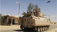 مقتل 6 من رجال الشرطة في انفجار عبوة ناسفة في سيناء