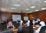 امانة نجران تنظم دورة تدريبية باستخدام اجهزة الرفع المساحي وتحديد المواقع