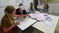 """السبسي """"متقدم بفارق كبير"""" في انتخابات رئاسة تونس"""
