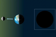 فلكية جدة : القمر في المحاق .. غدًا