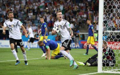 ألمانيا تفوز على السويد بهدفين مقابل هدف