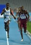 العداء السعودي عبدالعزيز لادان يحقق ذهبية 800 م بالألعاب الآسيوية