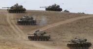 تركيا تنشر قواتها قرب بلدة على الحدود مع سوريا