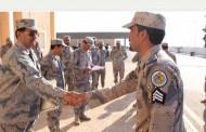 تكريم ضابط و14 فردًا بحرس حدود الجوف أسهموا في القبض على أحد المهربين