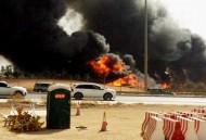 """""""مدني الرياض"""" يسيطر على حريقاً اندلع في ناقلة وقود على الدائري الشرقي"""