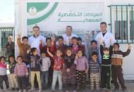العيادات التخصصية السعودية تباشر (2443) حالة في مخيم الزعتري