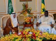 رئيس جمهورية السنغال يلتقي معالي وزير المالية