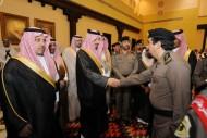 الأمير فيصل بن خالد يتلقى البيعة من منسوبي وزارتي الدفاع والداخلية
