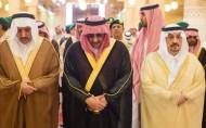 نائب خادم الحرمين الشريفين يؤدي صلاة الميت على الأميرة نوف بنت عبدالعزيز