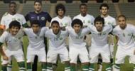 الأخضر الأولمبي يتعادل مع إيران في كأس غرب آسيا