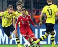 بايرن ميونيخ يفوز بالخمسة على بوروسيا دورتموند في الدوري الألماني