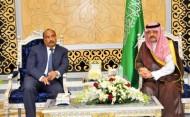 الرئيس الموريتاني يصل جدة